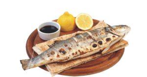 Грузинская кухня - форель на кеци